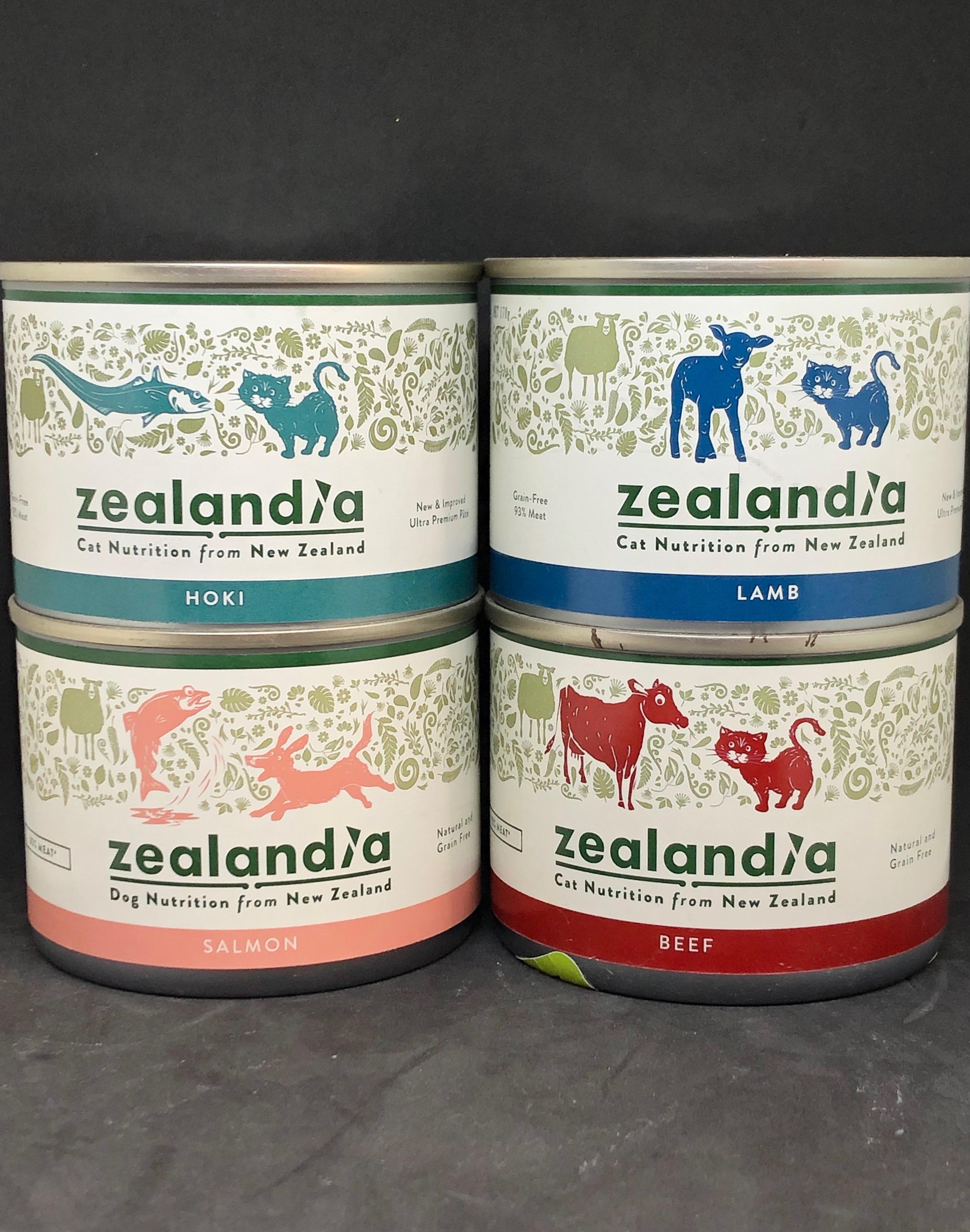 Zealandia Cat Mixed 4 x 170g Tins zealandia-cat-mixed-4-pack