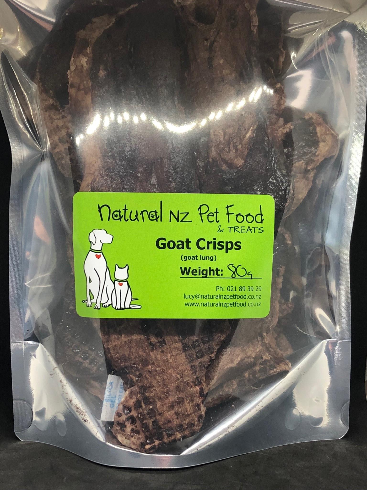 Dried Goat Crisps 80g Goat Crisps