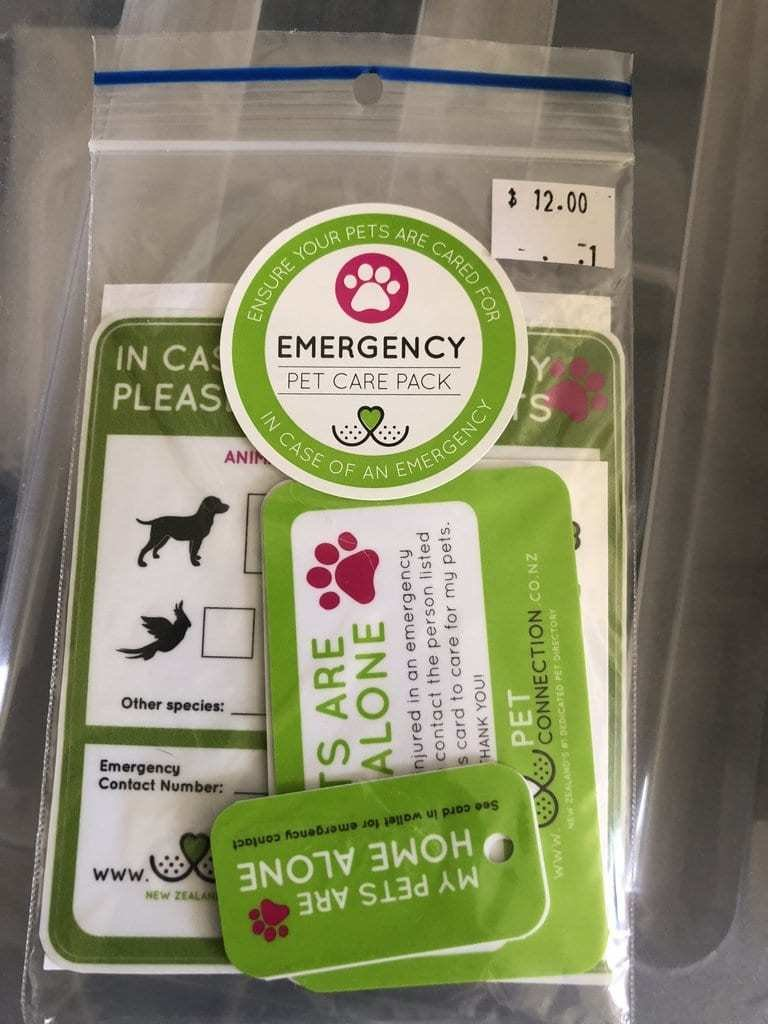 Emergency Pet Care Kit by Pet Connection emergency-kit