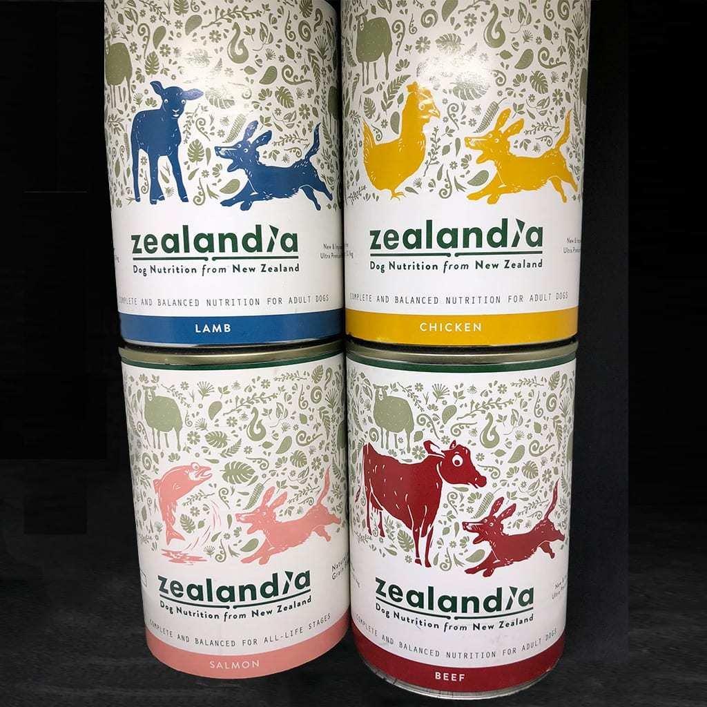 4 pack x 370g Tinned Dog Zealandia Dog 4 Pkt