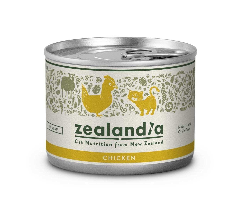 Free Range NZ Chicken 170g Tinned Cat Food Singles or 12Pkt zealandia-free-range-nz-chicken