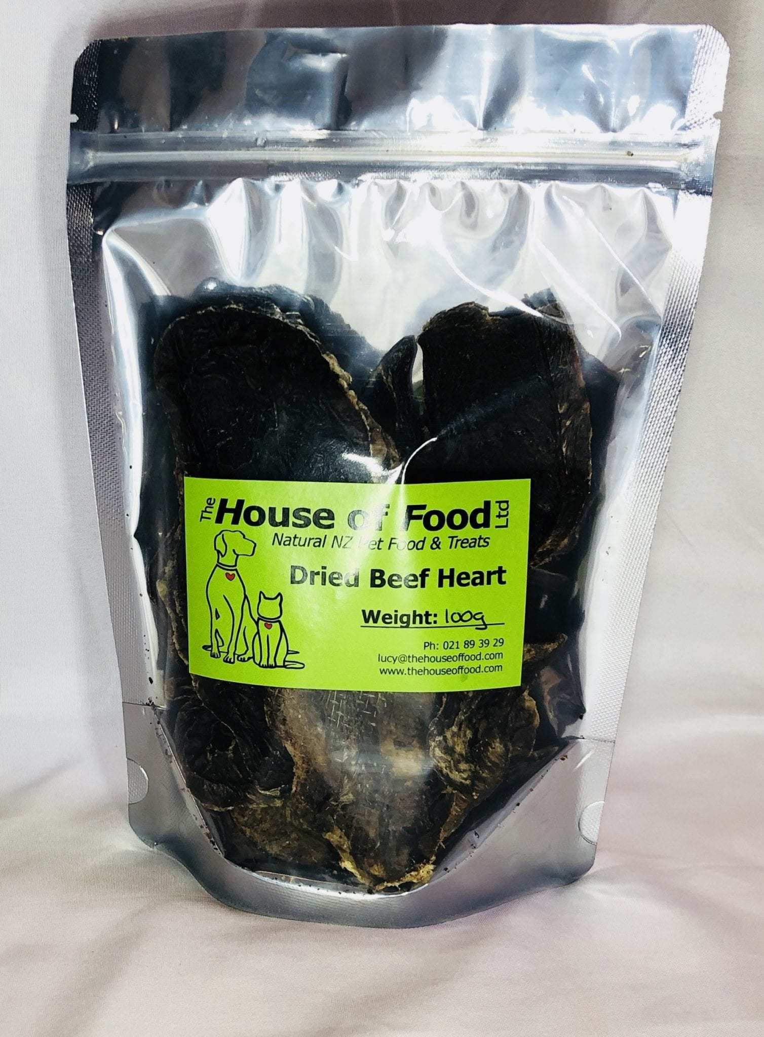 Dried Heart Beef Dried Heart 50g