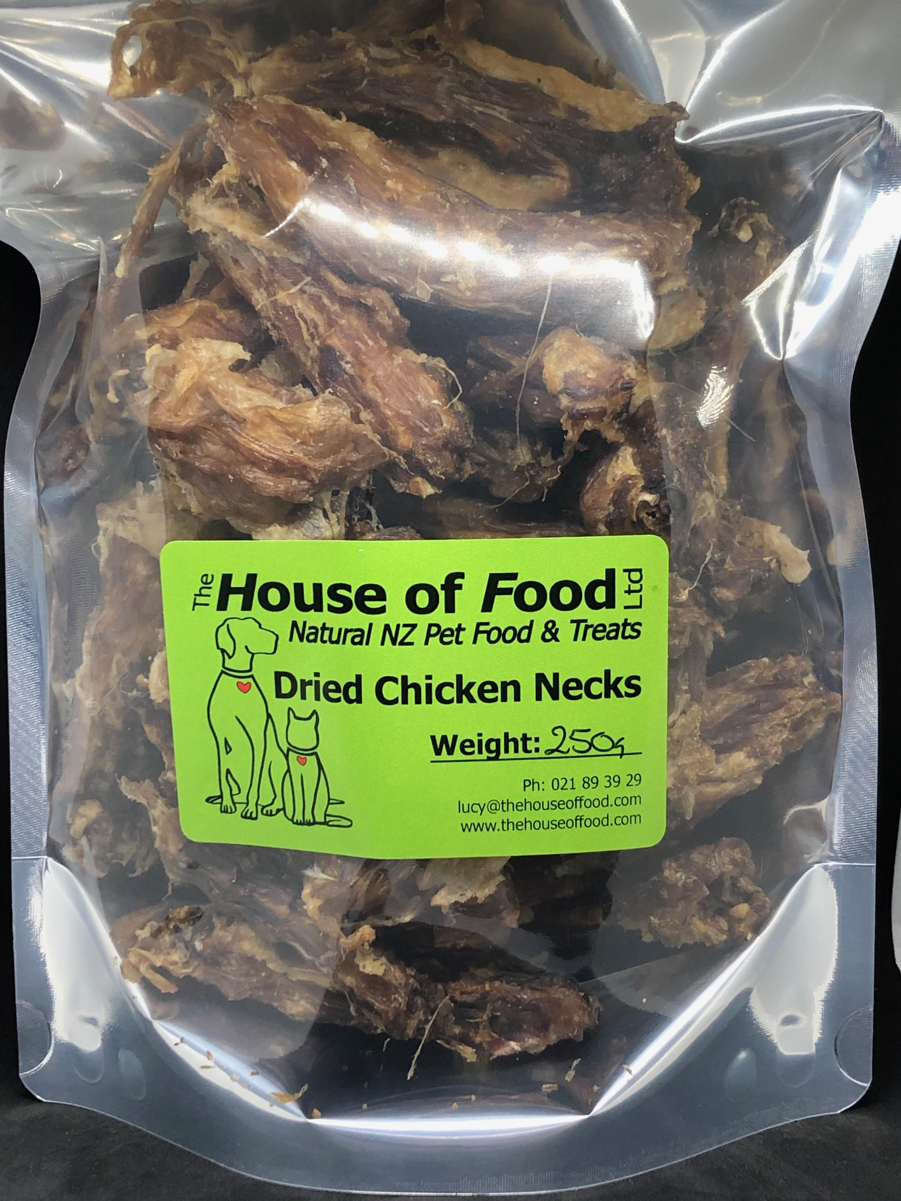 Chicken Necks 250g Dried Chicken Necks