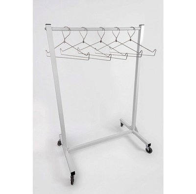 Mobile Radiation Apron Wall Rack, #AR10-VALET-36