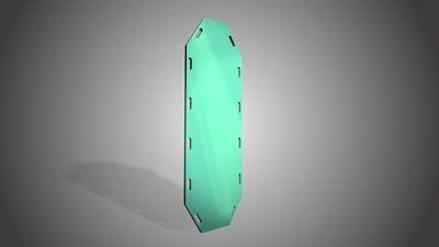 Static Treated Aqua Transfer Board - 3/16