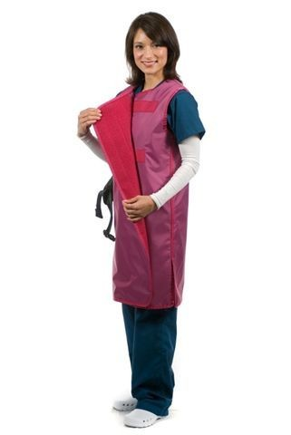Jacket Style Wrap Around Apron (BUILT-TO-ORDER)