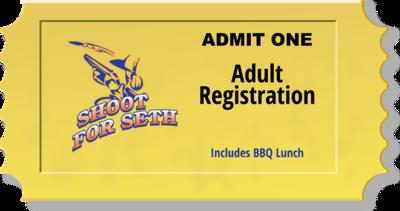 Admit One - Adult Registration