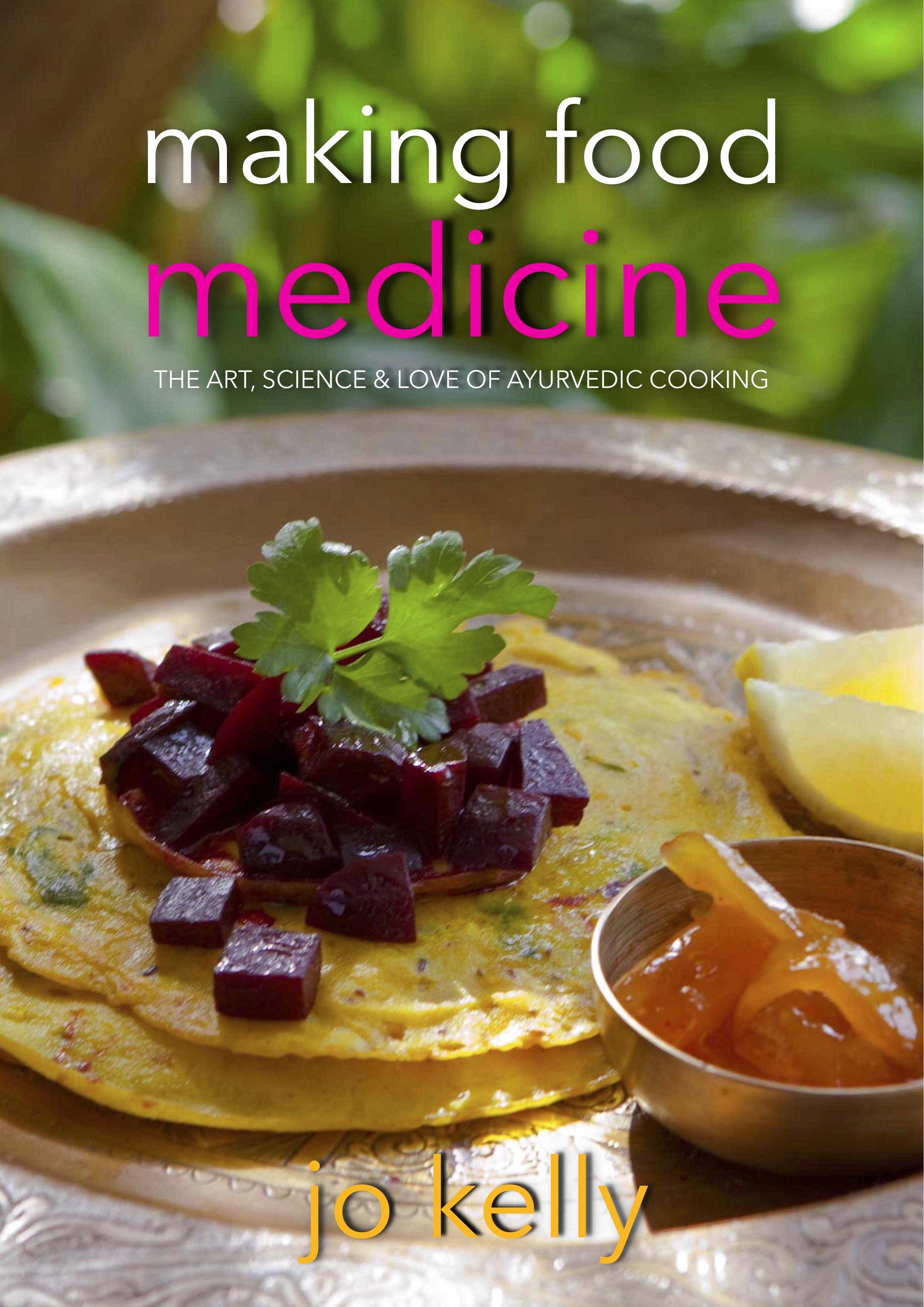 Cookbook: Making Food Medicine (Hardcover) 00029