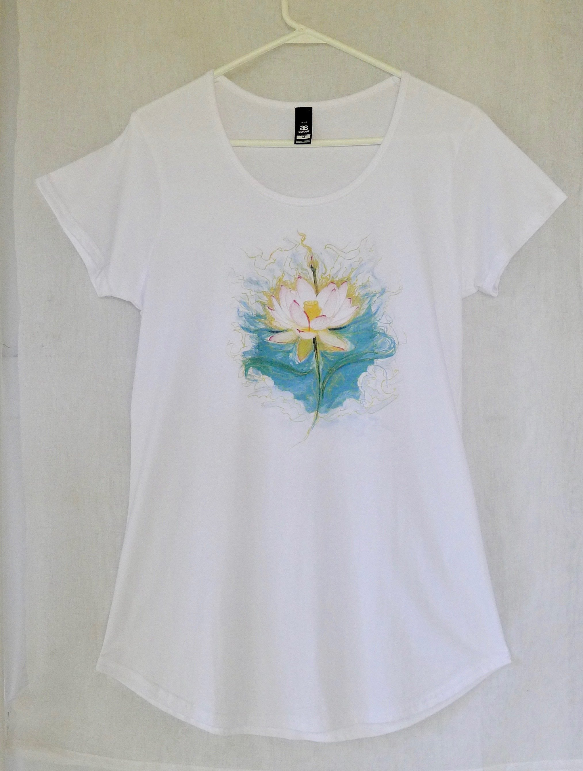 Blue Lotus Yoga Tee