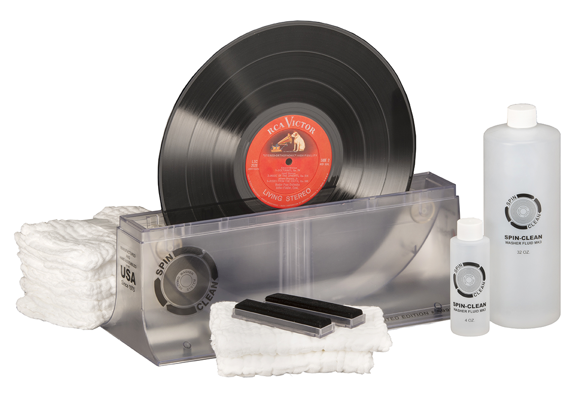 "Limited-Edition Spin-Clean® Record Washer MKII ""Clear"" MKII-PKG-LE"
