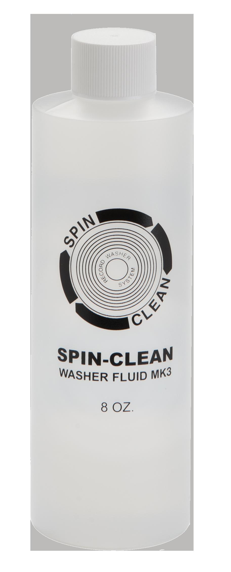 Spin-Clean® 8 oz. Bottle Record Washer Fluid MK3 SC-8OZ