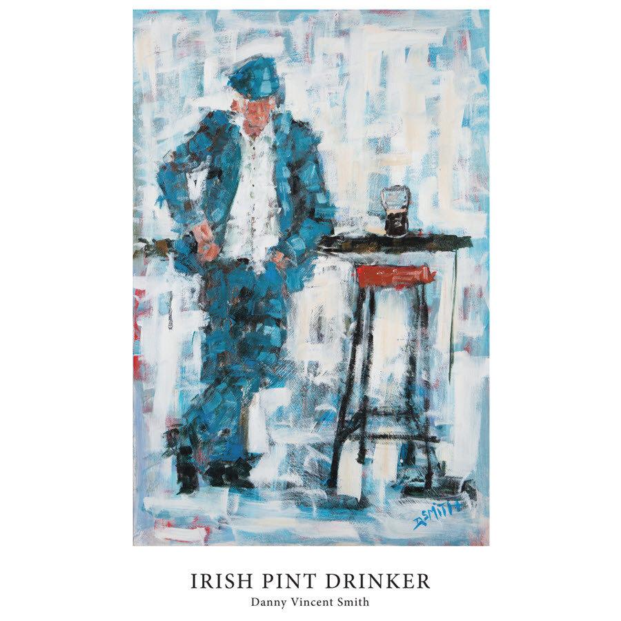 Irish Pint Drinker 00010