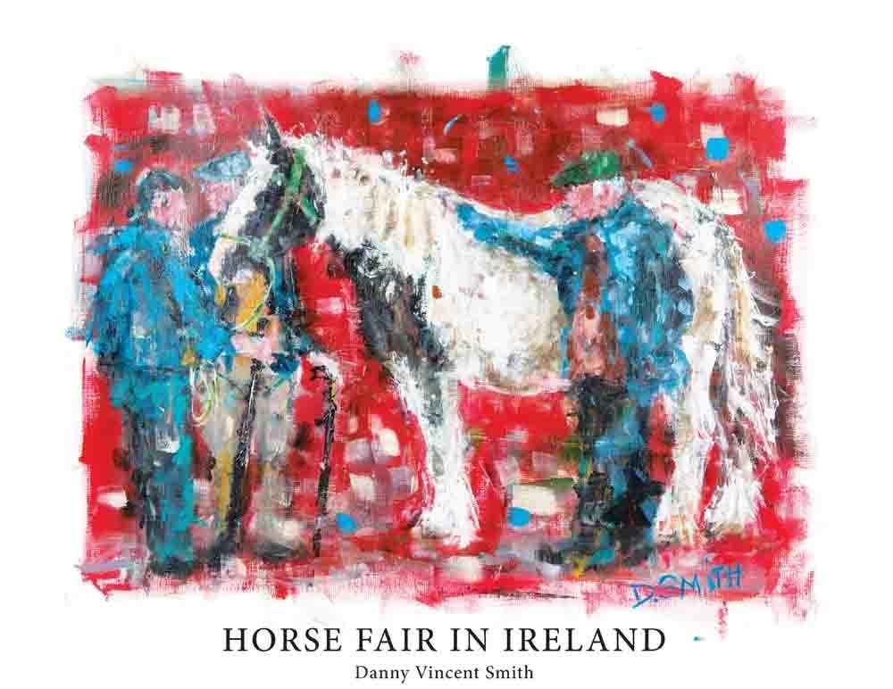 Irish Horse  Fair in Ireland 00001