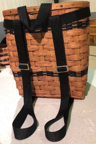Amish Handmade Pack Basket