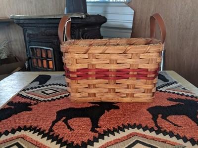 Amish Handmade Cracker Basket