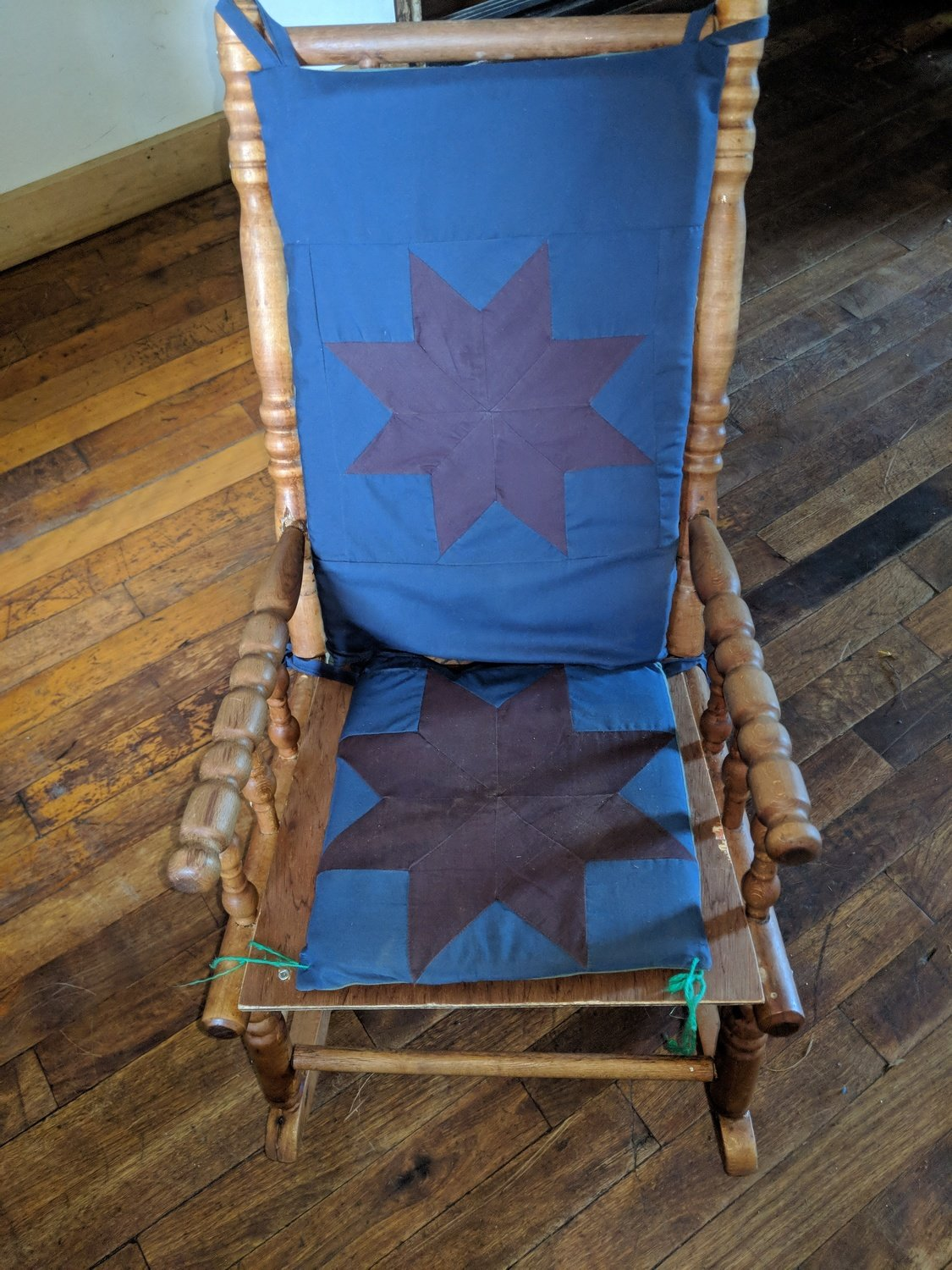 Amish Hand Crafted Chair Cushions (back and seat)