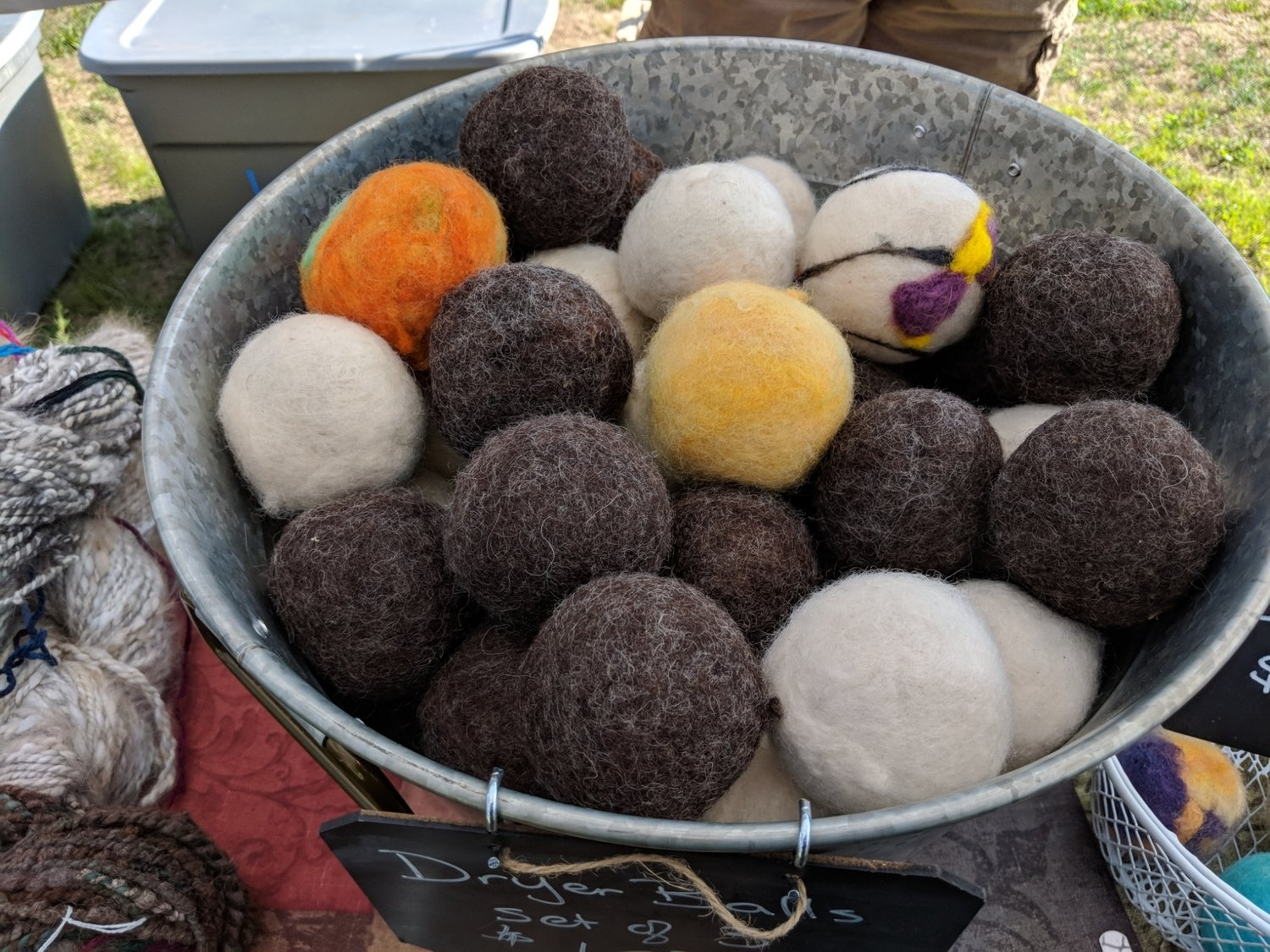 Hand Made Wool Dryer Balls