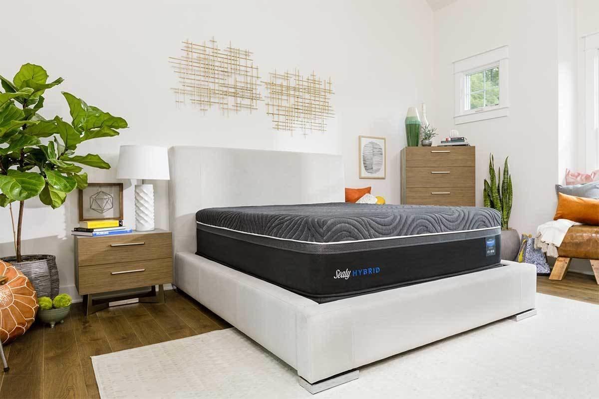 Sealy Posturepedic Hybrid Premium Silver Chill Firm Mattress