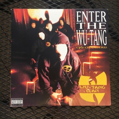 Wu-Tang Clan ~ Enter the Wu-Tang (36 Chambers) ~ Vinyl LP  (Original Pressing) (1993) Loud Records. Excellent Shape. (USED)