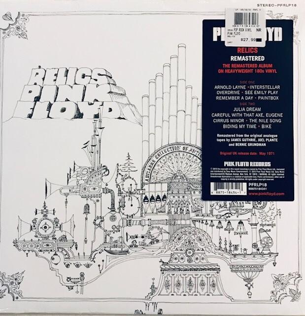 Pink Floyd ~ Relics ~ Vinyl LP (New) Remastered
