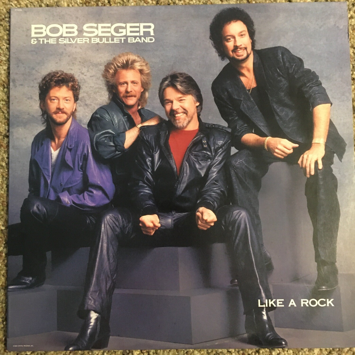 Bob Seger & The Silver Bullet Band ~ Like A Rock ~ Vinyl LP (Original Pressing) (1986) Capitol Records. (USED)