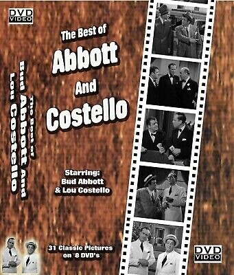 The Best Of Abbott And Costello 8 DVD Set (New)