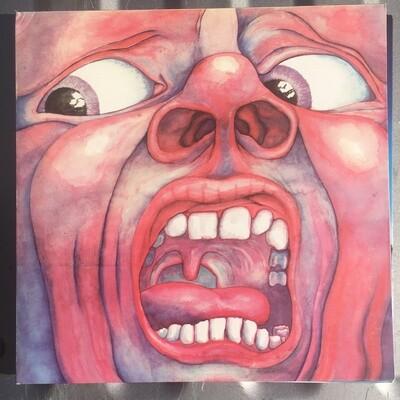 King Crimson ~ In The Court Of The Crimson King ~ (1977) Reissue ~ Vinyl LP (VG+)