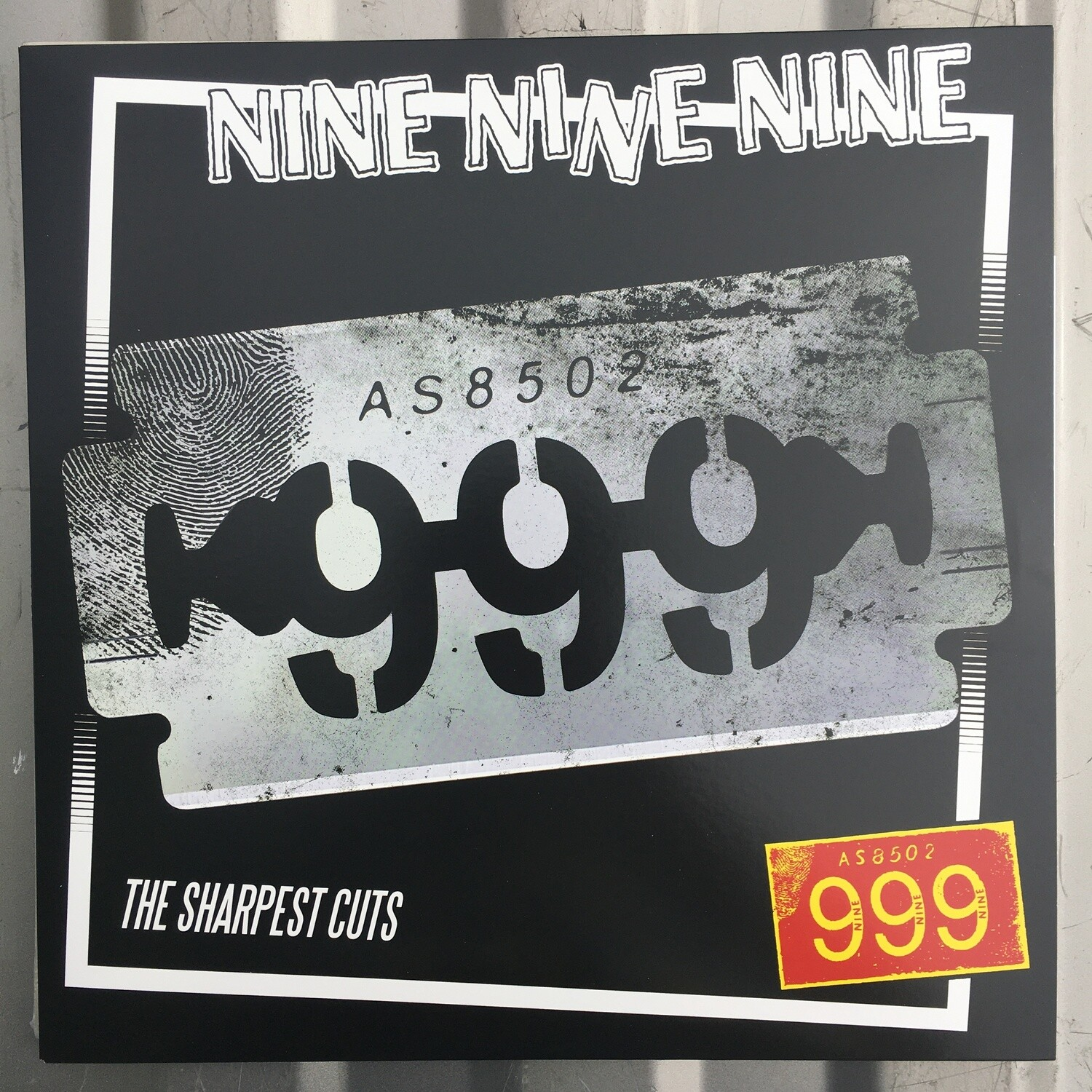 (999) Nine Nine Nine ~ The Sharpest Cuts ~ (NEW) Vinyl LP