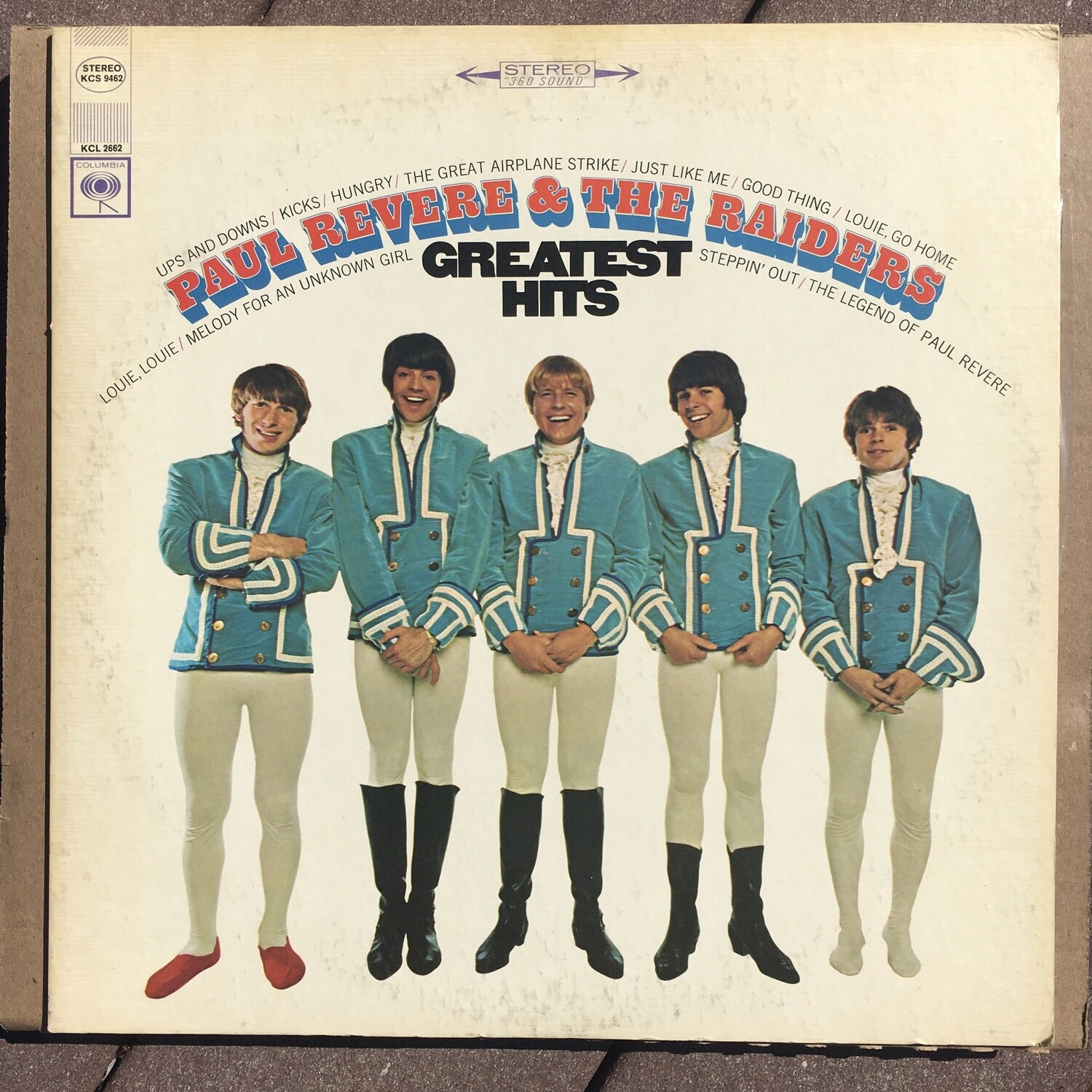 Paul Revere & The Raiders ~ Greatest Hits ~ (USED) Vinyl LP (VG+) ~ Mono