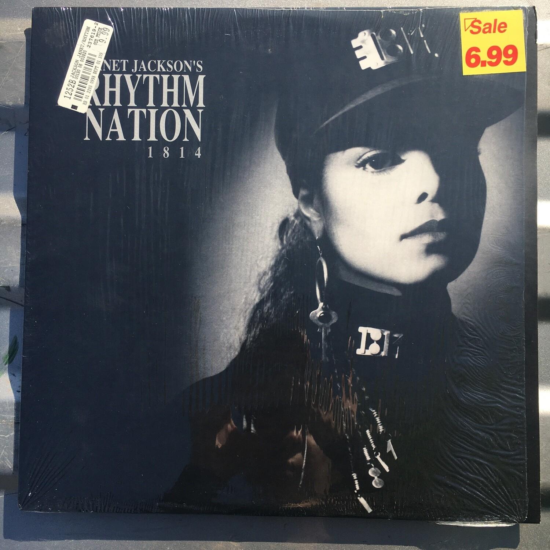 Janet Jackson ~ Rhythm Nation 1814 ~ (USED) Vinyl LP ~ Original Pressing ~ Excellent Shape