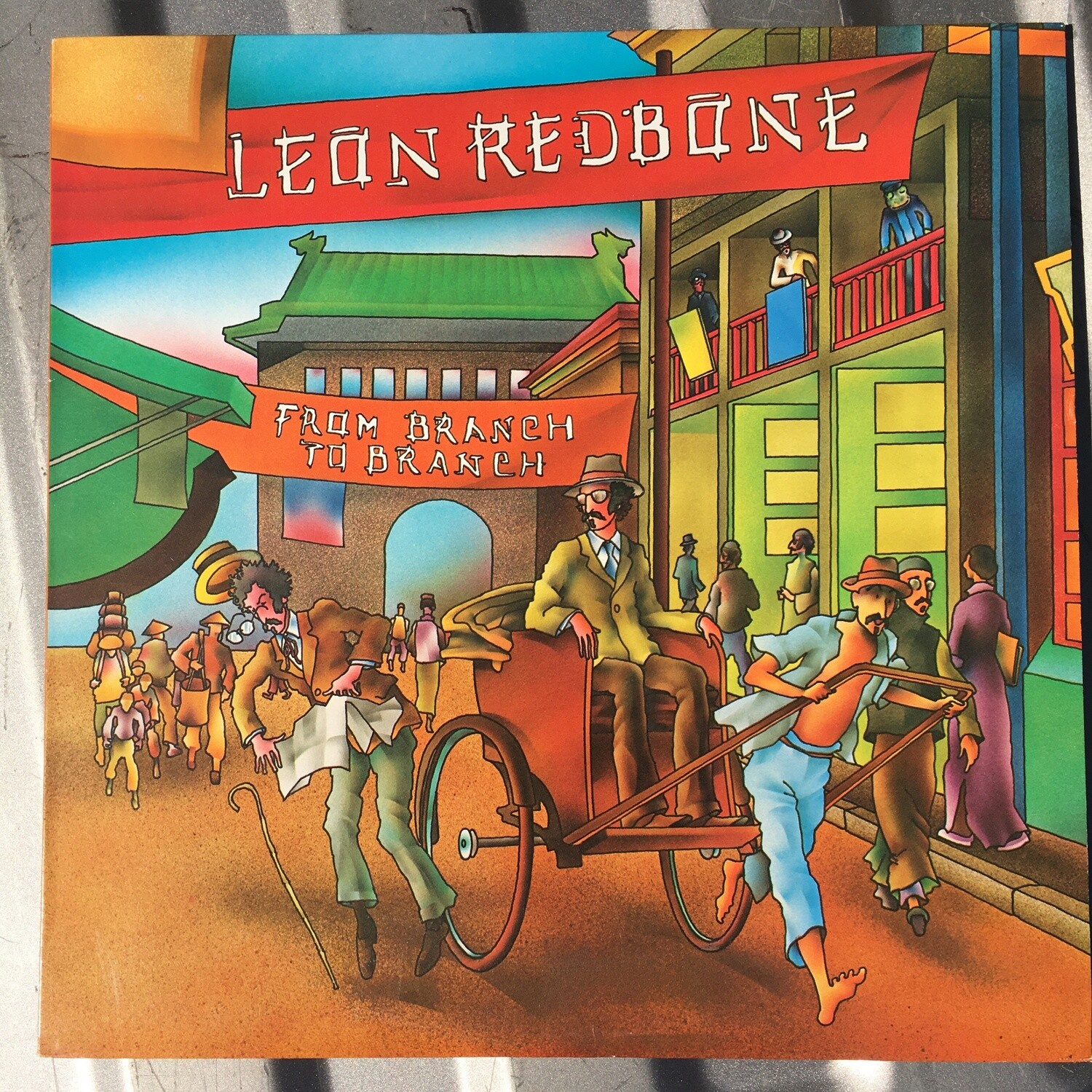 Leon Redbone ~ From Branch To Branch ~ (USED) Vinyl LP ~ (1981) Original Pressing