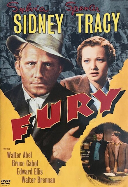 Fury ~ DVD ~ Sylvia Sidney ~ Spencer Tracy (1936) (Used) Excellent.