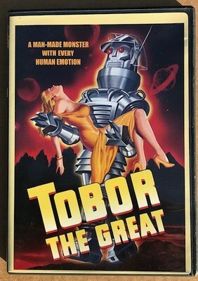 Tobor The Great ~ DVD ~ A Man Made Monster With Every Human Emotion (Used) Excellent