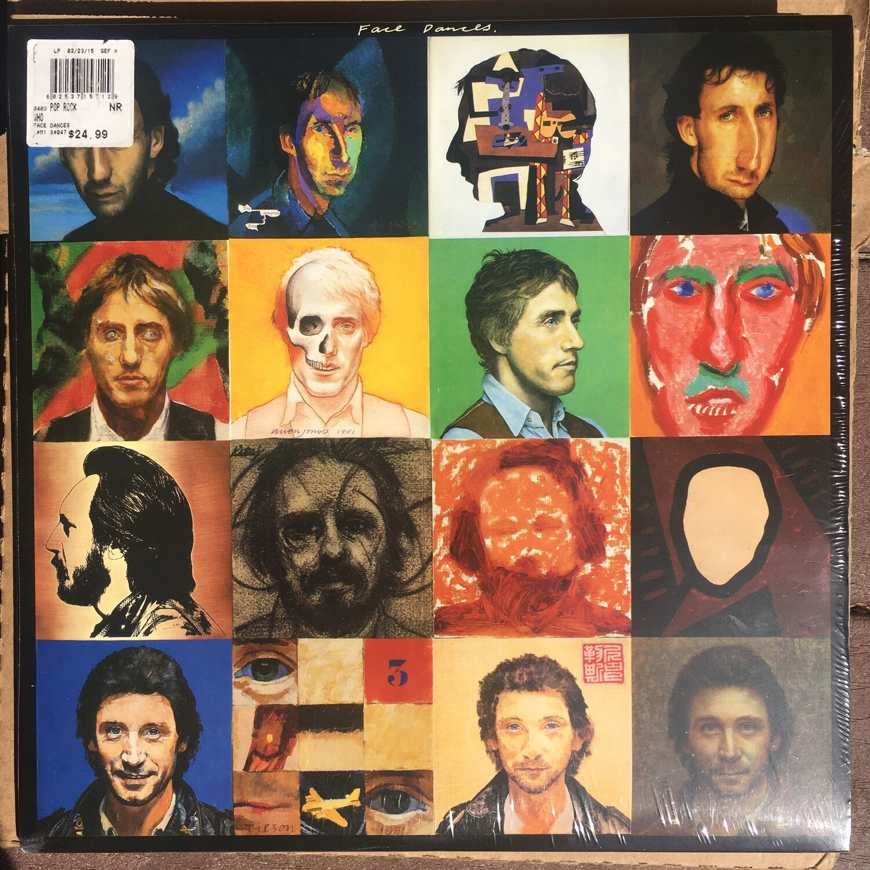 The Who ~ Face Dances ~ (NEW) Vinyl LP