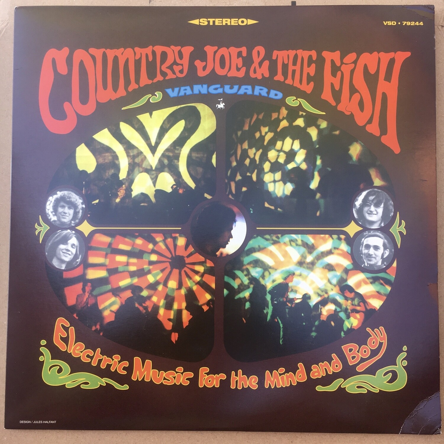 Country Joe & The Fish ~ Electric Music For The Mind and Body ~ (USED) Vinyl LP (VG+)