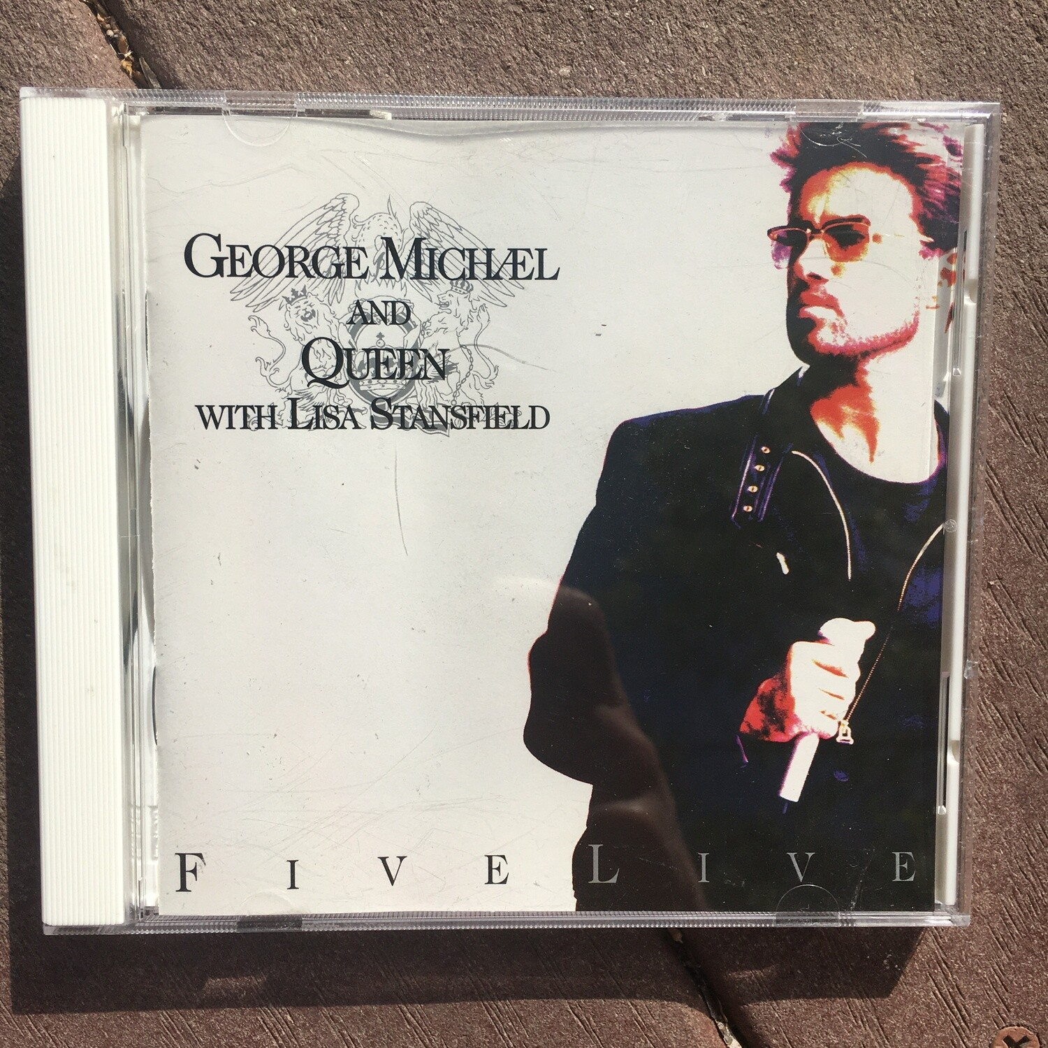George Michael And Queen With Lisa Stansfield ~ Five Live ~ (USED) CD