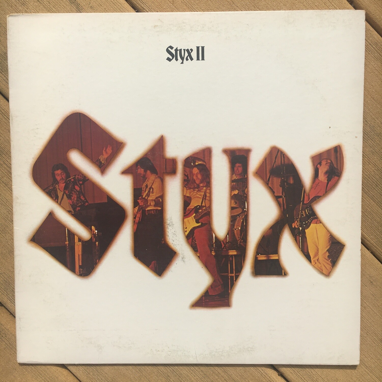 Styx ~ Styx II ~ (USED) Vinyl LP ~ (1973) Repress ~ VG+