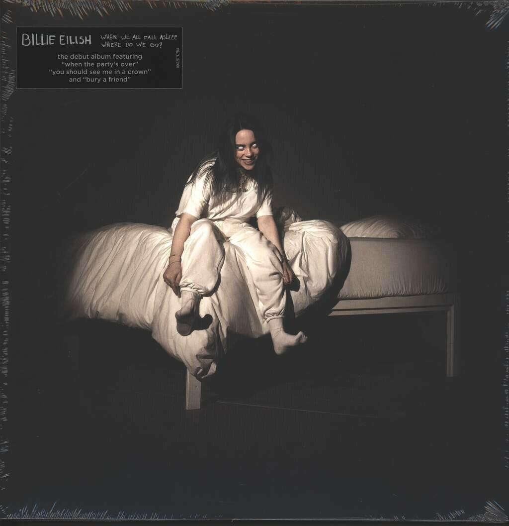 Billie Eilish ~ When We All Fall Asleep, Where Do We Go? ~ (NEW) Vinyl LP