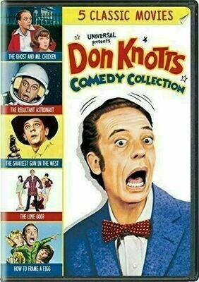 Don Knotts ~ Comedy Collection ~ DVD ~ Featuring 5 Classic Movies (New) Sealed