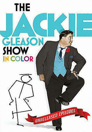 The Jackie Gleason Show In Color ~ 10 DVD Set ~ Unreleased Episodes (New)