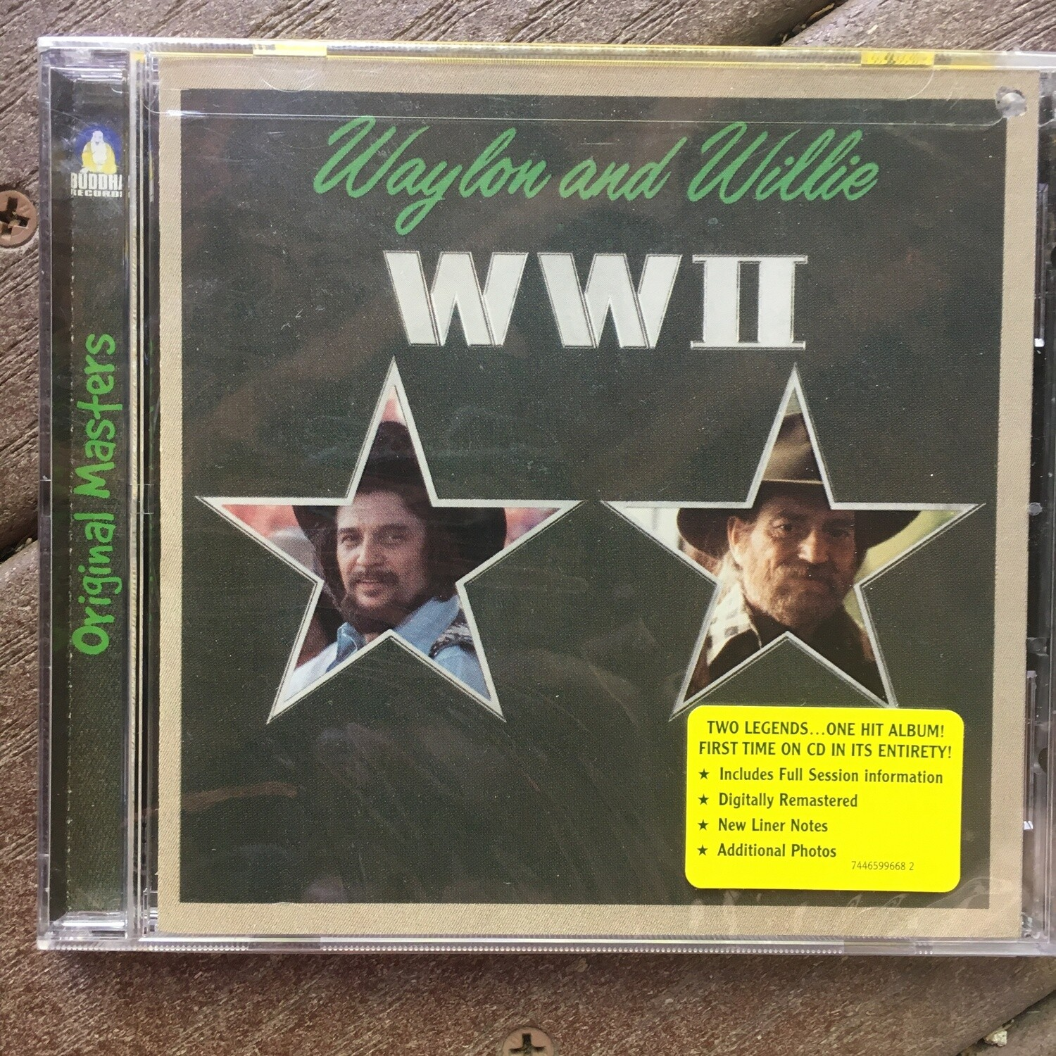 Waylon Jennings and Willie Nelson ~ WWII ~ (NEW) CD