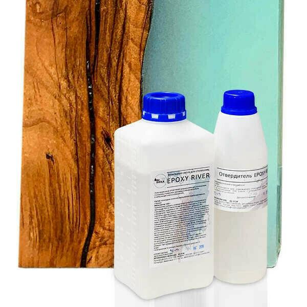 Epoxy River 1,4кг  — смола для столешниц