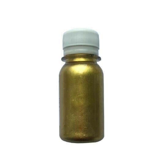 """Золотистый металлик краситель """"Полимер-О"""" Palizh 50 грамм"""