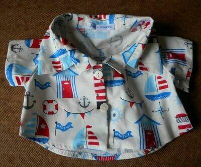 Shirt - sailing print