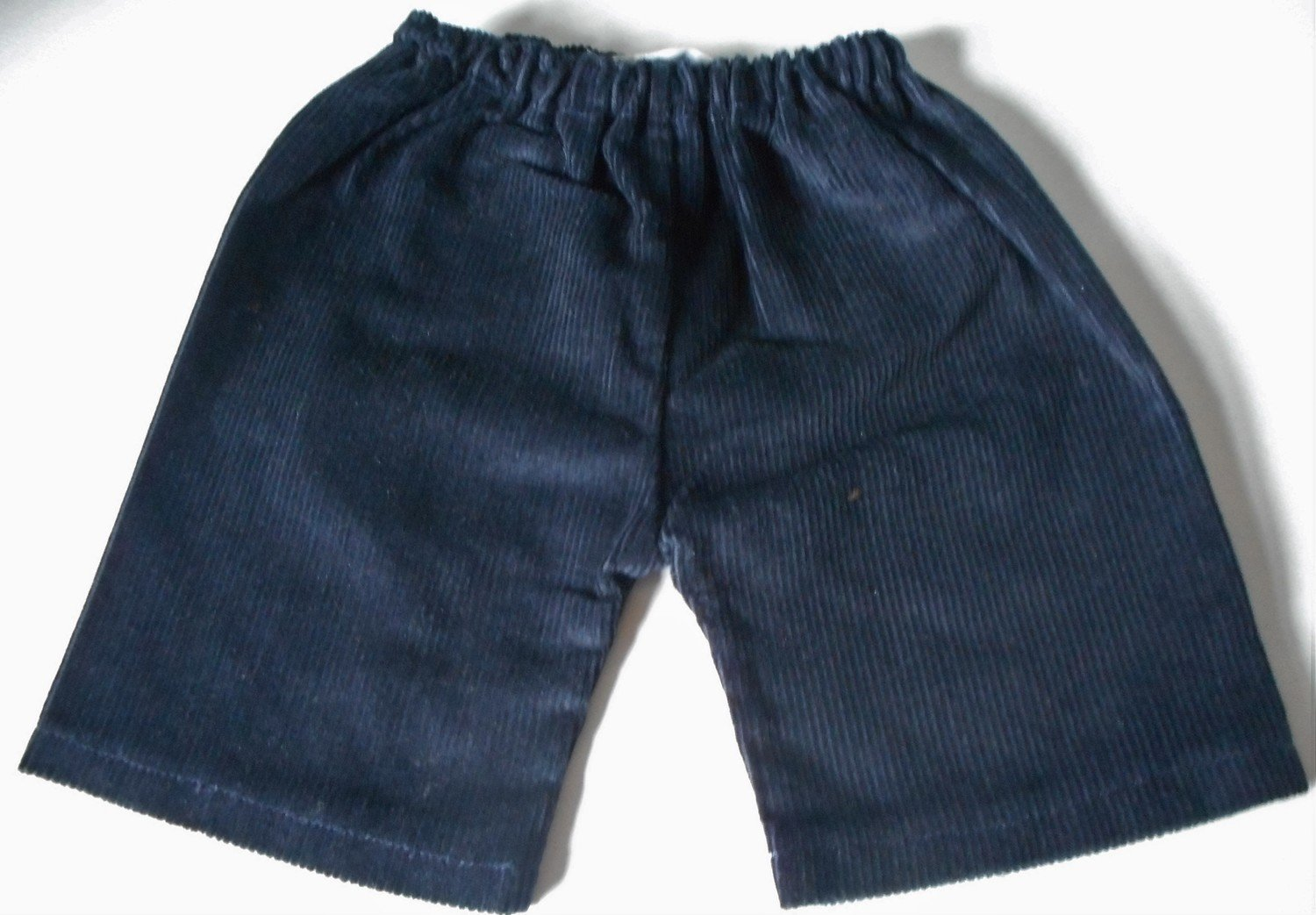 Trousers with back pockets - dark navy