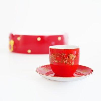 Red Dragon ceramic