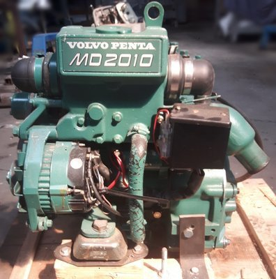 Afholte Volvo Penta D6-330 inboard diesel engine in good condition coming OW-62