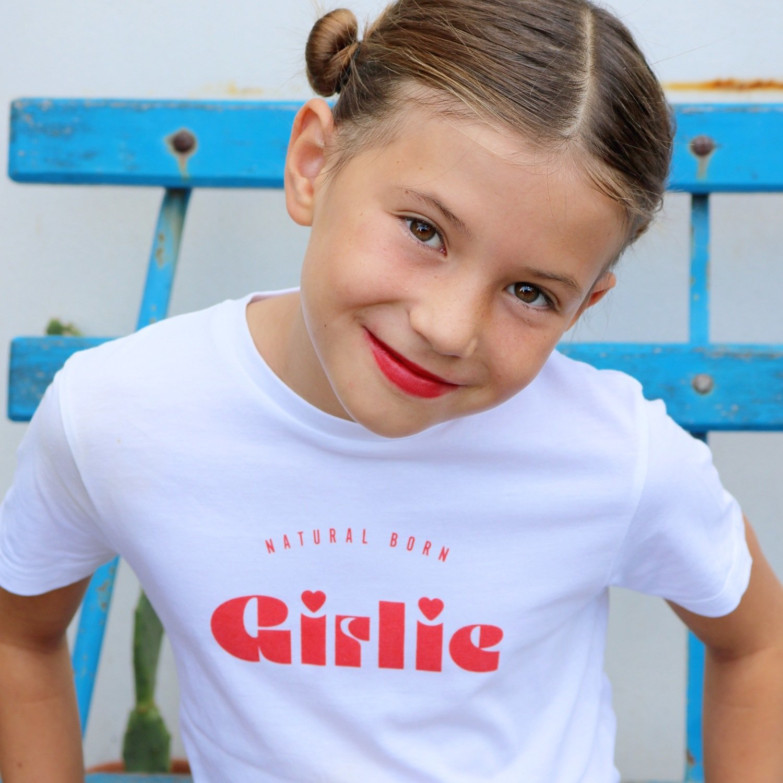 Tee-shirt Natural Born GIRLIE