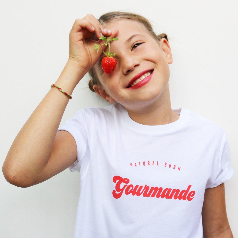 Tee-shirt Natural Born GOURMANDE