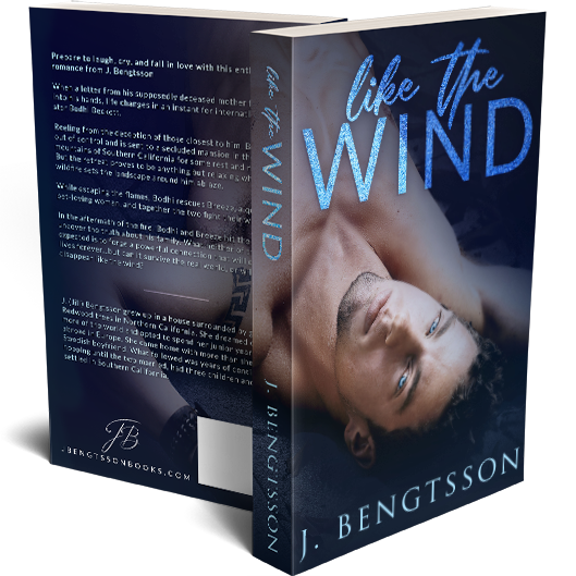 Like the Wind Signed Paperback 00007